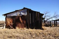 Gone Forever Again (nedlugr) Tags: california ca carrizoplain carrizoplainnationalmonument usa barn fence ruraldecay ruralwest rust ruralscene rustic weatheredwood dryasdust goneforeveragain carsonmchone