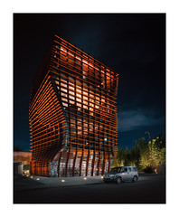 The Waffle Building (lamoreauxscott) Tags: waffle culver city eric owen moss architecture architecturephotography arcaswiss rm3di modernarchitecture contemporary