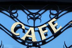 CAFE (Rick & Bart) Tags: goslar germany deutschland niedersachsen city urban rickvink rickbart canon eos70d historic architecture unescoworldheritagesite café metal iron