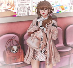 Harajuku School Girl (Gabriella Marshdevil ~ Trying to catch up!) Tags: secondlife cute zenith ayashi mudskin