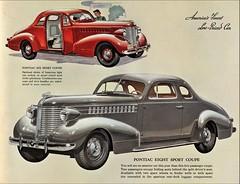1938 Pontiac Sport Coupe (aldenjewell) Tags: 1938 pontiac six eight sport coupe brochure