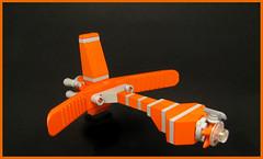 Separatist Starship (Karf Oohlu) Tags: lego moc microscale microspacetopia scifi spaceship separator starfish