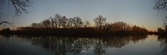 Reflets sur la Seille en hiver (armanet philippe) Tags: outside saôneetloire bourgogne bresse sunset hiver winter panoramique reflet reflexion philippearmanetfr coucherdesoleil landscape light trees nature janvier louhans
