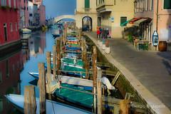 Storie di un 50(3) (giobertaskin) Tags: canon ponte canale chioggia sottomarina sigma50art barca barche
