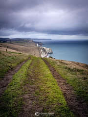 The Jurraic Path (Christian Lawrence Photography) Tags: dorset pathway hiking eosr jurassic coast durdle door cliff walk landscapephotography
