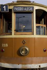 Number one (JLM62380) Tags: porto portugal tram tramway transportation driver conducteur