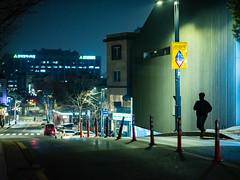 2117/1842'z (june1777) Tags: snap street alley seoul night light bokeh fujifilm gfx 50r canon ef 85mm f12 ii 5000 bukchon adcn vivid