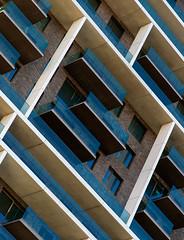 The grid wall II (jefvandenhoute) Tags: belgium belgië antwerp nieuwzuid wall windows