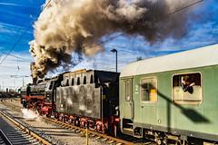 Running to a new Destination (**capture the essential**) Tags: 2019 dampflok december dezember fotowalk munich münchen nikolauszug sonya7m2 sonya7mii sonya7mark2 sonya7ii sonyilce7m2 steamengine steamtrain train