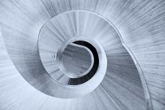 - Curves - (Jacqueline ter Haar) Tags: curves spiral stairs nlarchitects forumgroningen forum hetforum staircase transition brightness birth sun diepte