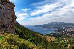 Cassis coast (hbensliman.free.fr) Tags: travel france nature mediterranean outdoor outside sea coast coastline cliff pentaxk1 pentax pentaxart