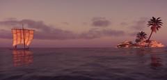 ''Sails'' (HodgeDogs) Tags: ubisoftmontreal ubisoftquebec birds water island photography inexplore explore larahjohnson fransbouma pc games gaming ubisoft