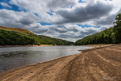 Perception (Through_Urizen) Tags: category derbyshire england hdr ladybowerreservoir landscape places canon70d canon canon1585mm outdoor outside water reservoir trees hills sky clouds uk unitedkingdom greatbritain bank shoreline curve line lake valley