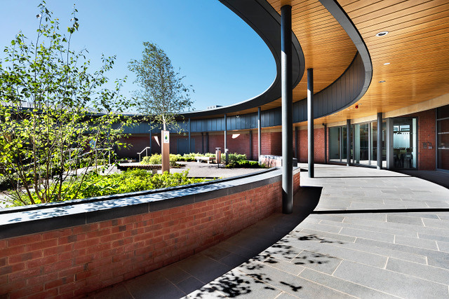 Acute Mental Health Facility, City Hospital, Belfast (photo RPP Architects)