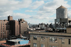 Manhattan Skyline Photo (Zach K) Tags: skyline buildings water tower manhattan watertower rosenwach apartments offices lowermanhattan lower nyc new york city urbanism urbanform urban form design architecture fujifilm xpro2 space place winter cold clear air xf35mmf14