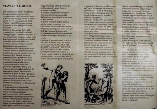 IMG_6604MAA Parma Couvent San Paolo Alessandro Araldi (1460-1528)  Camera di San Paolo Camera dell'Araldi 1514 Appartements privés de l'abbesse Giovanni da Piacenza Private apartments of the abbess Giovanni da Piacenza