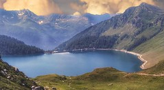 Lago Ritòm (Luc1659) Tags: landscape lake alpi switzerland sky cloud montagna