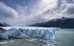Perito Moreno Glacier, Patagonia (StarCitizen) Tags: argentina patagonia peritomorenoglacier glacier blue water ice snow mountains clouds sun lake ngc npc