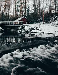 Urpolan luontokeskus (jpuuskaphotography) Tags: nature naturephotography longexposure travel photography winter suomi finland mikkeli naturelover waterfall