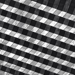 Abstract Architecture (2n2907) Tags: abstract architecture glass office building windows skyscraper graphic geometric geometry pattern lines bw