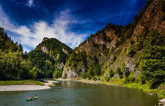 Dunajec Gorge #0 (Andrzej Kocot) Tags: andrzejkocot art adventure fineart forest microfourthirds mzuiko m43 mountain creative clouds colors countryside colorful sky surreallandscape surreal sunlight skyline starlandscapes olympus omd outdoor poland polska photography pieniny