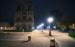 Parisian morn (Jim_Nix) Tags: jimnix travel paris france europe notredame cathedral sunrise bluehour luminar sonya7ii