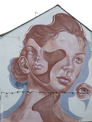 Caro Pepe (BE'N 59. Street photographer) Tags: caropepe visage portrait femme woman streetart cheltenham streetartcheltenham cheltenhamstreetart
