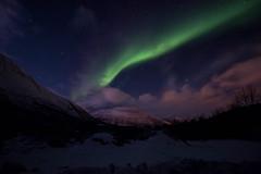 Northern Lights (José Rambaud) Tags: northernlights auroraboreal auroraborealis artico arcticcircle arctic cielo sky skyscape norway tromso scandinavia nubes noche night clouds montañas mountains montagnes montagna
