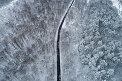 Winding Roads (Matt Champlin) Tags: tbt thursday throwback snow snowy life nature landscape peaceful quiet calm calming fgl mayweall road wiser love winter aerial drone
