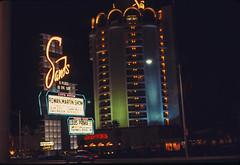 Found Ektachrome Slide, Las Vegas, 1969 (Thomas Hawk) Tags: 1969 america coparoom ektachrome hotel lasvegas louispriima nevada rowanmartin sands usa unitedstates unitedstatesofamerica vegas casino foundphoto foundslide neon neonsign ruthbuzzi fav10 fav25 fav50 fav100