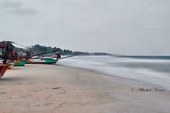 Mahabalipuram Beach (abhishek.verma55) Tags: mahabalipuram beach shore ©abhishekverma sea seascape incredibleindia beachphoto seaside coast flickr photography seashore exploreindia longexposure bayofbengal outdoor water scenic travelphotography travelphotos scenery scene view indiatravel traveller boat seascapelovers beauty beautiful canon550d canon famousplaces indiaexplore india landscape landscapes landscapephotography nature outdoors outside noperson tranquil serene serenity tranquility travel vacation wanderlust waterfront exploration sand