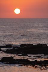 California Sunset (_aires_) Tags: aires iris sunset beach sun rocks couple landscape seascape canoneos40d sandiegocalifornia silhouette