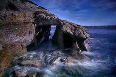 La Jolla Cave (lfeng1014) Tags: lajollacave lajolla california pacificocean rocks cave ocean water lajollacove canon5dmarkiii ef2470mmf28liiusm leefilters longexposure 4seconds seascape usa travel landscape lifeng