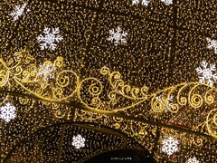 Enjoy illumination! (VERUSHKA4) Tags: canon europe russia moscow decoration detail illumination gold holiday christmas newyear december winter hiver season city hccity cityscape ville snowflake lights pattern square
