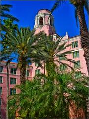 Miami (Bluescruiser1949) Tags: miamibeach miami florida oldarchitecture palmtrees colourarchitecturalphotography architecture colourphotography beachphotography bluescruiser1949