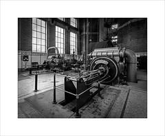 The Mayoress (tkimages2011) Tags: leigh spinners mill crosscompoundengine steamengine engine themayoress engineering lancashire mono monochrome bw heritage inside windows