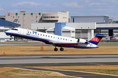 JA10RJ Ibex Airlines Bombardier CRJ-702ER NG (CL-600-2C10) (阿樺樺) Tags: ja10rj ibex airlines bombardier crj702er ng cl6002c10