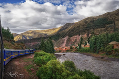 From Puno to Cuzco by PeruRail (marko.erman) Tags: perurail peru cuzco latinamerica southamerica highaltitude andes mountains river green trees clouds trip journey travel train beautiful scenic landscape