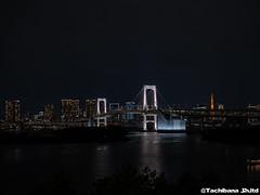 P1061018-HDR (et_dslr_photo) Tags: nightview night nightshot tokyo tokyobay tokyobayside rainbowbridge tokyotower