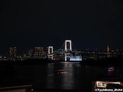 P1061012-HDR (et_dslr_photo) Tags: nightview night nightshot tokyo tokyobay tokyobayside rainbowbridge tokyotower