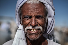 Street Portrait (Portraits By Karim) Tags: photographer portrait portraits portraitsbykarim professional egypt egyptian art artistic aging cairo faces face man camel camels market giza