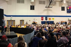 """Introducing Pete Buttigieg at town hall in Marshalltown, IA • <a style=""""font-size:0.8em;"""" href=""""http://www.flickr.com/photos/117301827@N08/49357111243/"""" target=""""_blank"""">View on Flickr</a>"""