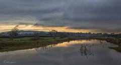 Skies clearing (Through Bri`s Lens) Tags: sussex ashurst partridgegreen riveradur river flood truleighhill brianspicer canon5dmk3 canon1635f4
