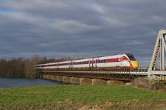 800108 04-01-20 (IanL2) Tags: lner azuma class800 800108 hitachi railways trains cambridgeshire