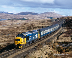 Wild West (chrissyMD655) Tags: west highland class 37 37402 large logo br livery bridge orchy scotland