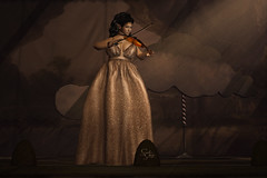 #1753 SchlappOhrStyle (BlogOwner : SchlappOhrStyle) Tags: seniha gisela dress glitter glitzer gown elegance elegant legacy genus swallow noldor elf runaway cinderella princess violine violinist evolove cynful