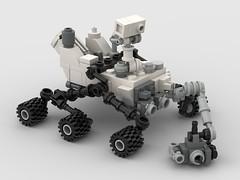 Curiosity (Stefan Schindler) Tags: lego moc curiosity nasa mars rover studio foitsop digital