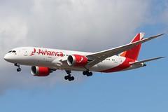 Avianca N782AV LHR 07/08/19 (ethana23) Tags: planes planespotting aviation avgeek aircraft aeroplane airplane boeing 787 7878 avianca