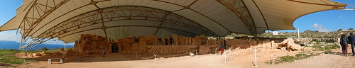 Mnajdra Temple panorama