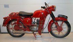 Photo of PBR110J BSA Bantam Blists Hill Post Office Museum